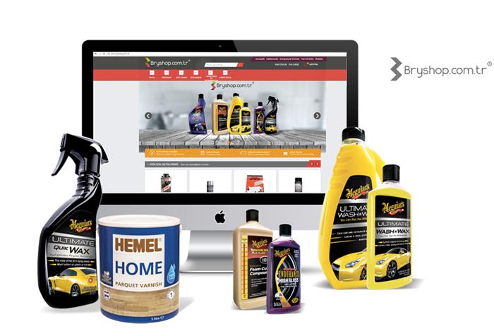 Yeni Markamız Bryshop.com.tr Sizlerle